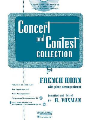 Concert and Contest Collection for French Horn: Solo Book with Online Media