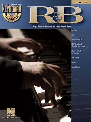 R&B: Play 8 Songs with Notation and Sound-Alike CD Tracks