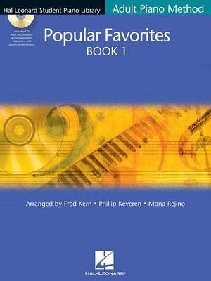 Hal Leonard Student Piano Library Adult Piano Method: Popular Favourites Book 1