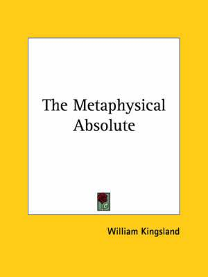 The Metaphysical Absolute