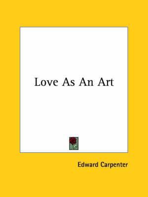 Love as an Art