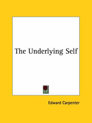 The Underlying Self