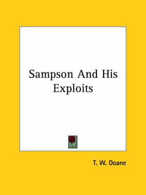 Sampson and His Exploits