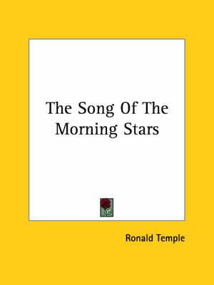 The Song of the Morning Stars