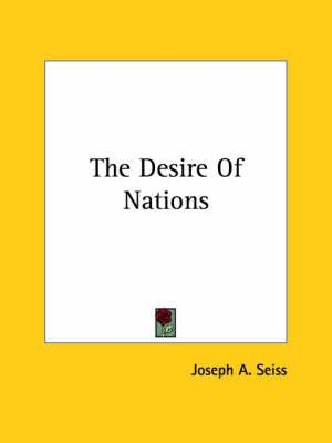 The Desire of Nations
