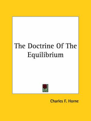 The Doctrine of the Equilibrium