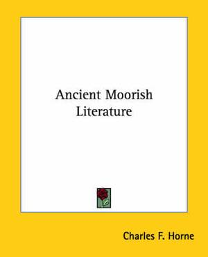 Ancient Moorish Literature