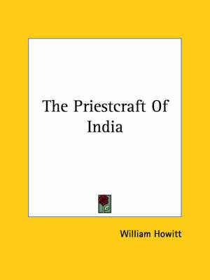 The Priestcraft of India