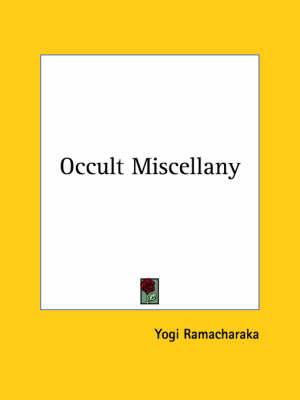 Occult Miscellany