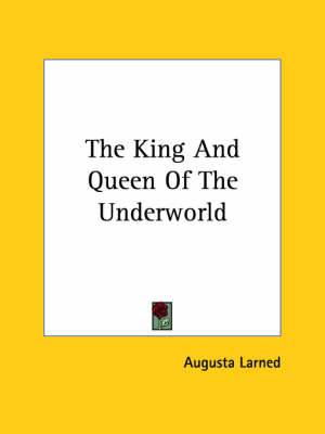 The King and Queen of the Underworld