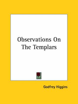 Observations on the Templars