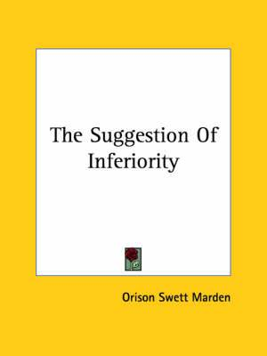 The Suggestion of Inferiority