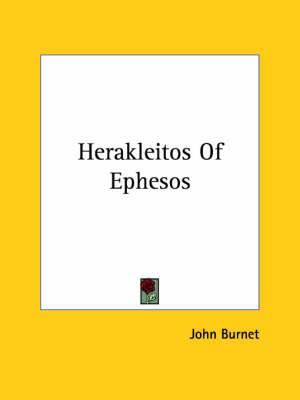 Herakleitos of Ephesos