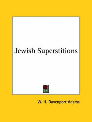 Jewish Superstitions