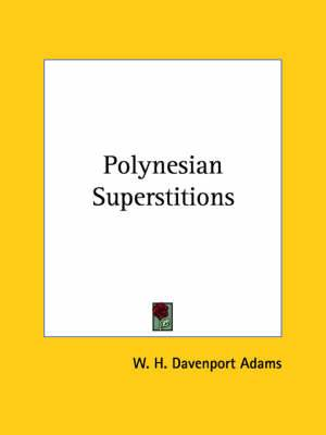 Polynesian Superstitions
