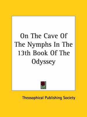 On the Cave of the Nymphs in the 13th Book of the Odyssey