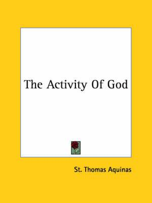 The Activity of God