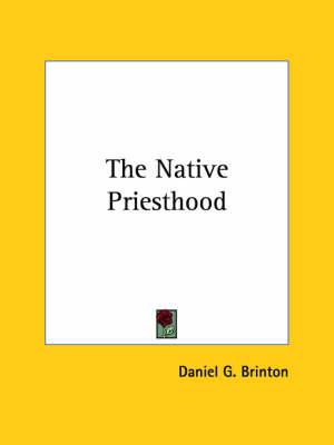 The Native Priesthood