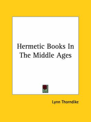 Hermetic Books in the Middle Ages