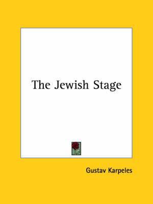 The Jewish Stage