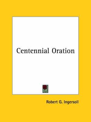 Centennial Oration