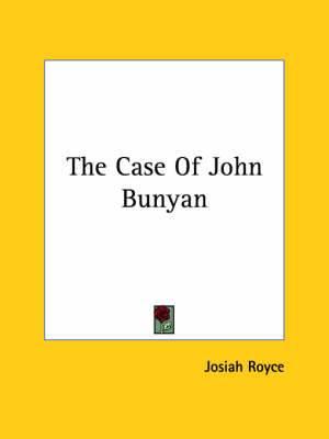 The Case of John Bunyan