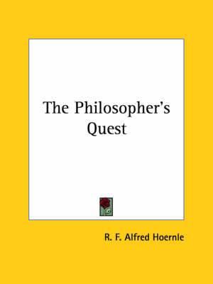 The Philosopher's Quest