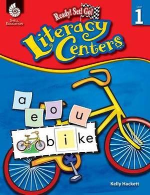 Ready! Set! Go! Literacy Centers, Level 1