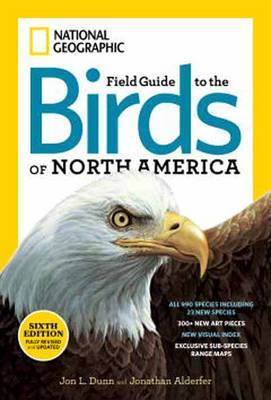 Field Guide To Birds Of North America (6th Edition): Guide Book