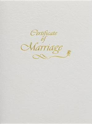 Contemporary Steel-Engraved Marriage Certificate, Package of 3