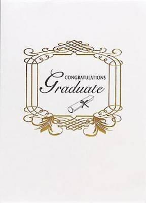 Abingdon Select Collection Congratulations Graduate Certificate
