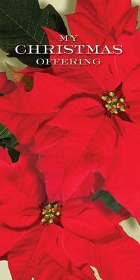 Christmas Music and Christmas Poinsettia Offering Envelope 2014 (Pkg of 50)