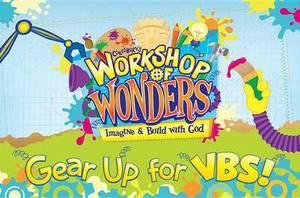 Workshop of Wonders Invitation Postcards 25pk