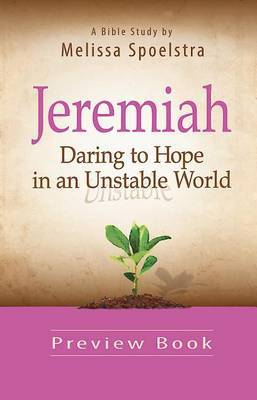 Jeremiah, Preview Book: Daring to Hope in an Unstable World
