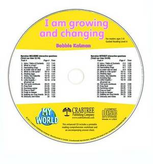 I Am Growing and Changing - CD Only