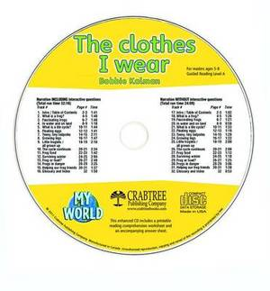 The Clothes I Wear - CD Only