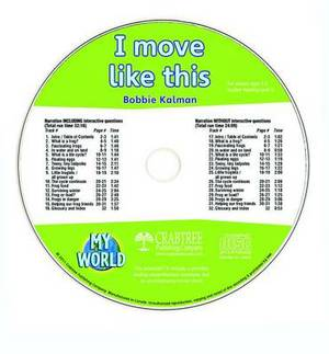 I Move Like This - CD Only