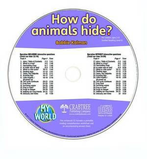 How Do Animals Hide? - CD Only