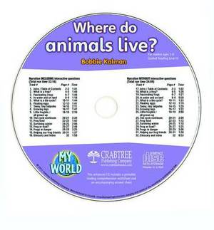Where Do Animals Live? - CD Only
