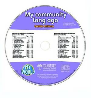 My Community Long Ago - CD Only