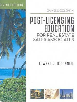 Post-licensing Education for RE Sales Associates