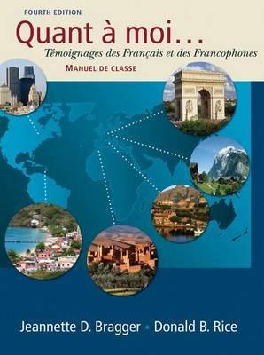 Quant a Moi...: Temoignages Des Francais Et Des Francophones (Book Only)