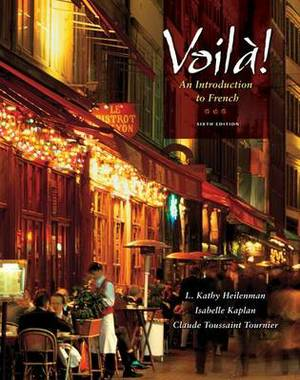 Voila!: An Introduction to French (Book Only)