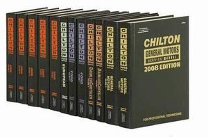 Chilton 2008 Domestic Service Manual Set
