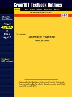 Studyguide for Essentials of Psychology by Rathus, ISBN 9780155080652