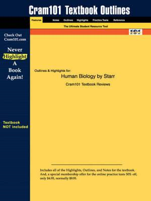 Studyguide for Human Biology by Starr, ISBN 9780534997830