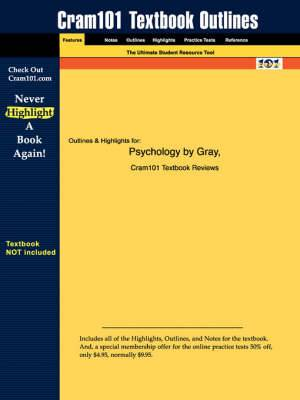 Studyguide for Psychology by Gray, ISBN 9780716706175