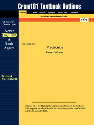 Studyguide for Precalculus by Faires, ISBN 9780534462796