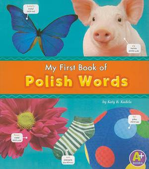 MyFirst Book of Polish Words