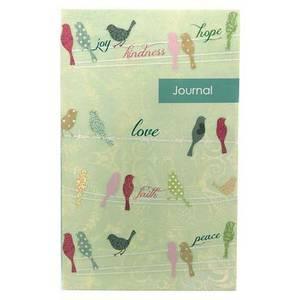 Birds on Wire Flexi Journal